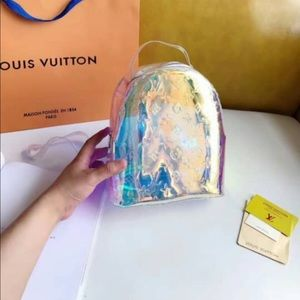Louis Vuitton mini Palm Spring prism backpack